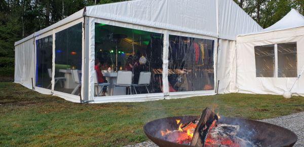 10x10 meter alu tent