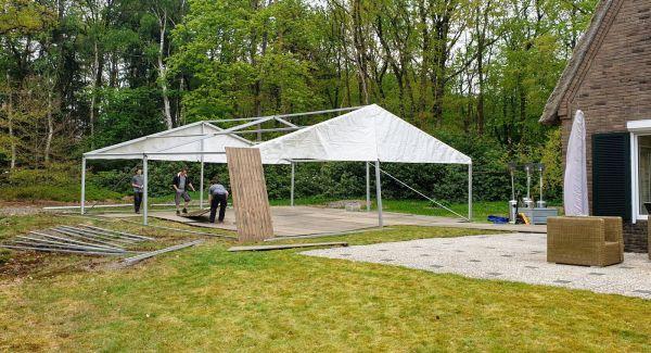 Tent bouwen